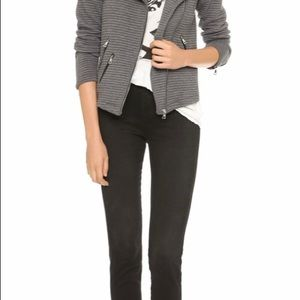 Generation Love Jackets & Coats - Grey Moto jacket